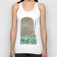 into the wild the whale Unisex Tank Top