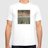 NEW TERRITORY Mens Fitted Tee White SMALL