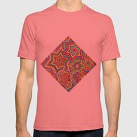 we are the star Mens Fitted Tee Pomegranate SMALL