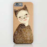 iPhone & iPod Case featuring Kiki Kitty by Irena Sophia