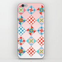 Country Days Patchwork O… iPhone & iPod Skin