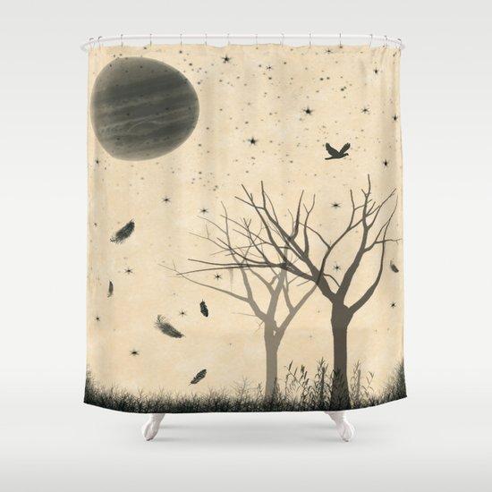 When I dream Shower Curtain