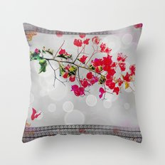 Fleur Throw Pillow