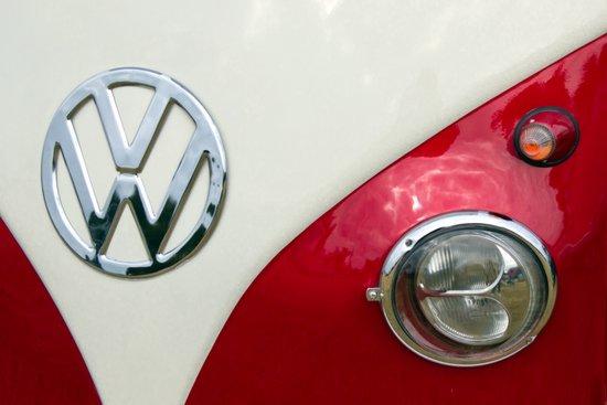 VW T2 Split Screen Art Print