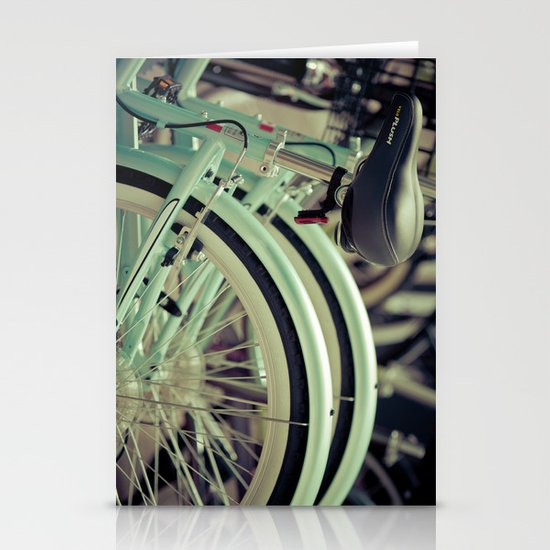 """""""Life is like a ten speed bicycle. Most of us have gears we never use."""" ~Charles M. Schulz~ Stationery Card"""