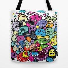 Monster friends Tote Bag