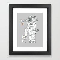 H+W Framed Art Print