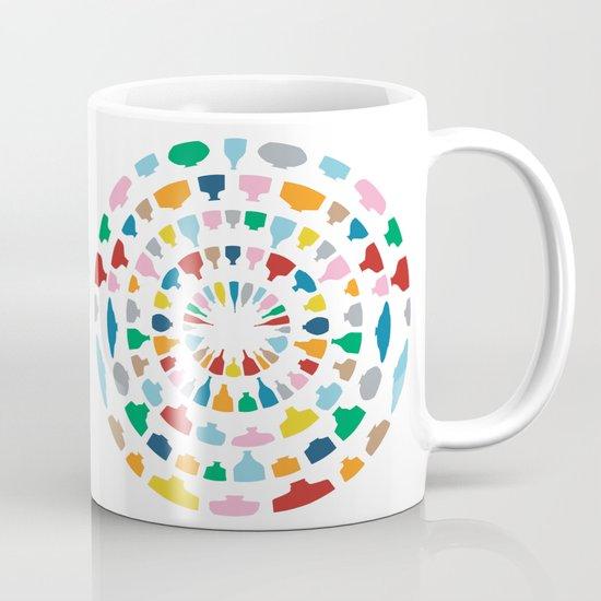 Wine o'Clock on White Mug