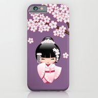 Japanese Bride Kokeshi D… iPhone 6 Slim Case