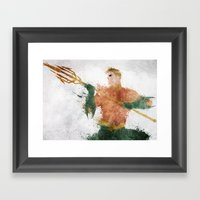Trident Framed Art Print