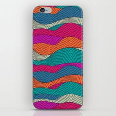 Bright stripes pattern iPhone & iPod Skin