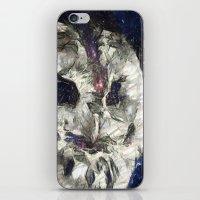 cosmic owl iPhone & iPod Skin