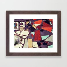 Colorful Abstract Mosaic No.1 Framed Art Print