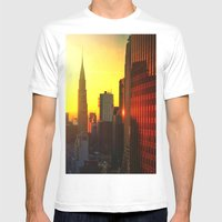 Chrysler Sunrise Mens Fitted Tee White SMALL