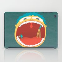 Oh, They're Teeth People! iPad Case