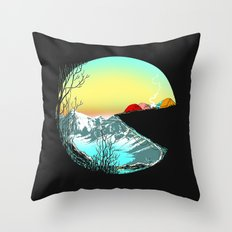 Pac camp Throw Pillow