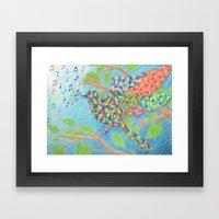 Kaleidescopic Framed Art Print