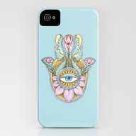 iPhone & iPod Case featuring Hamsa  by Natasha Zen