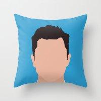 Joseph Gordon-Levitt Portrait  Throw Pillow