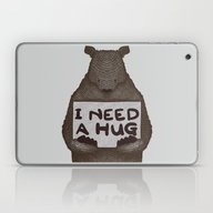 I Need A Hug Laptop & iPad Skin