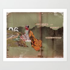 Read the Directions Art Print