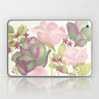 Autumn Bouquet - Kale & Rose Laptop & iPad Skin