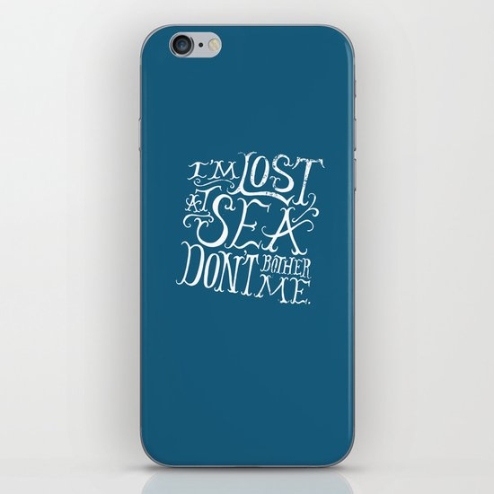 Lost at Sea iPhone & iPod Skin