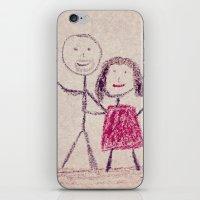 CRAYON LOVE: Boy meets Girl iPhone & iPod Skin