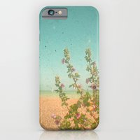 iPhone & iPod Case featuring Flowers by the Sea by Cassia Beck