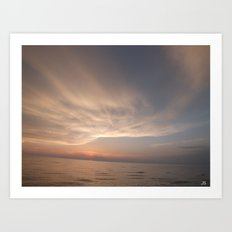 Over The Water Art Print