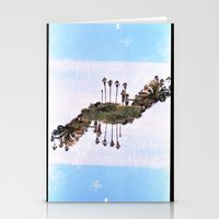 Landscapes c2 (35mm Double Exposure) Stationery Cards