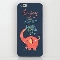 Enjoy The Moment iPhone & iPod Skin
