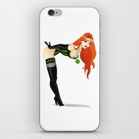 Lucky Girl iPhone & iPod Skin