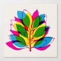 Blossom CMYK Canvas Print