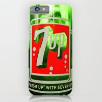 iPhone & iPod Case featuring Classic 7 Up bottle by Vorona Photography