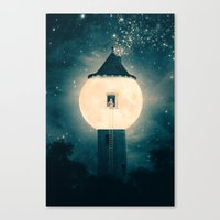 The Moon Tower Canvas Print