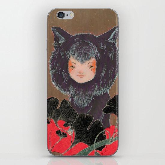 Fox Spirit Kitsune in Gingko iPhone & iPod Skin