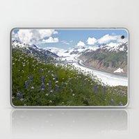 Glacial Flowers Laptop & iPad Skin