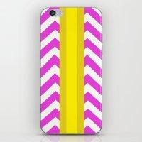 Olivia Summer Chevron iPhone & iPod Skin