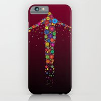iPhone & iPod Case featuring Oblation Flowers by MUSENYO
