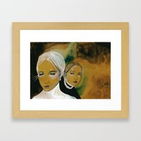 you and i and us (sen, ben, ve biz) Framed Art Print