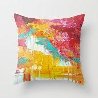 AUTUMN SKIES - Amazing F… Throw Pillow