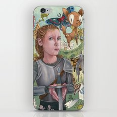 Protecting Your Imagination iPhone & iPod Skin