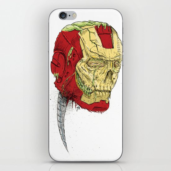 The Death of Iron Man iPhone & iPod Skin