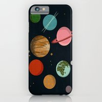 iPhone & iPod Case featuring The Planets  by Prelude Posters