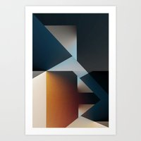 Disjointed Art Print