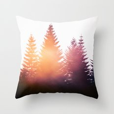 Morning Glory Throw Pillow