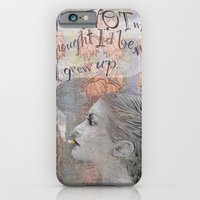 iPhone & iPod Case featuring Smoking girl by Anna Tarach