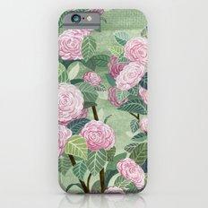 Pink florals Slim Case iPhone 6s