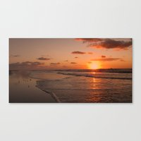 Wildwood Beach Sunrise I… Canvas Print
